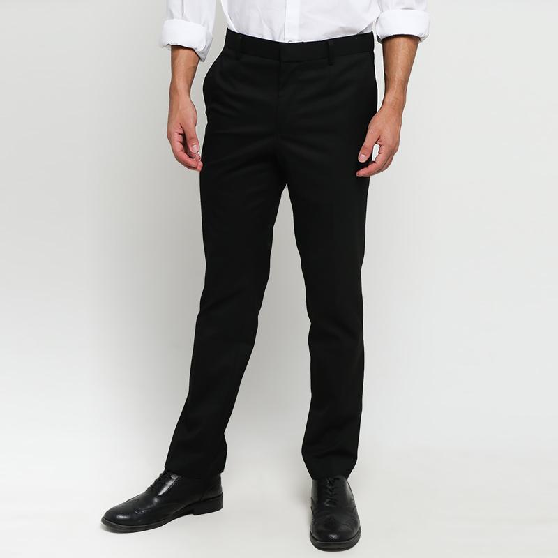 Jual Cardinal Formal Men Slim Fit Celana Panjang Pria - Black [FBSBI04111B/K.01G] Terbaru - Harga Promo Juli 2019 | Blibli.com