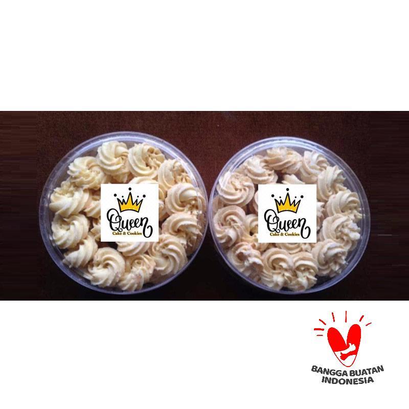 Jual Queen Cake Cookies Sagu Keju Kue Kering 2 Pcs Terbaru Juni 2021 Blibli