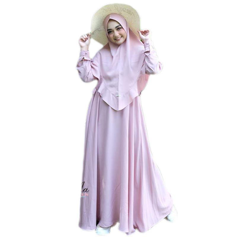 Jual Aden Hijab Salwa Set Khimar Gamis Wanita Online April 2021 Blibli