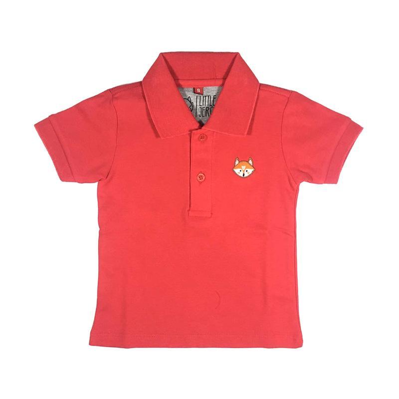 Little Jergio Polo Shirt Anak Merah