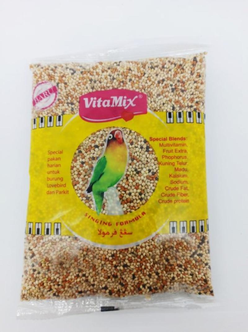Jual Pakan Vitamix Lovebird Singing Formula Makanan Biji Milet Campur Harian Burung Love Bird Kenari Parkit Dll Pvtlb Online Desember 2020 Blibli