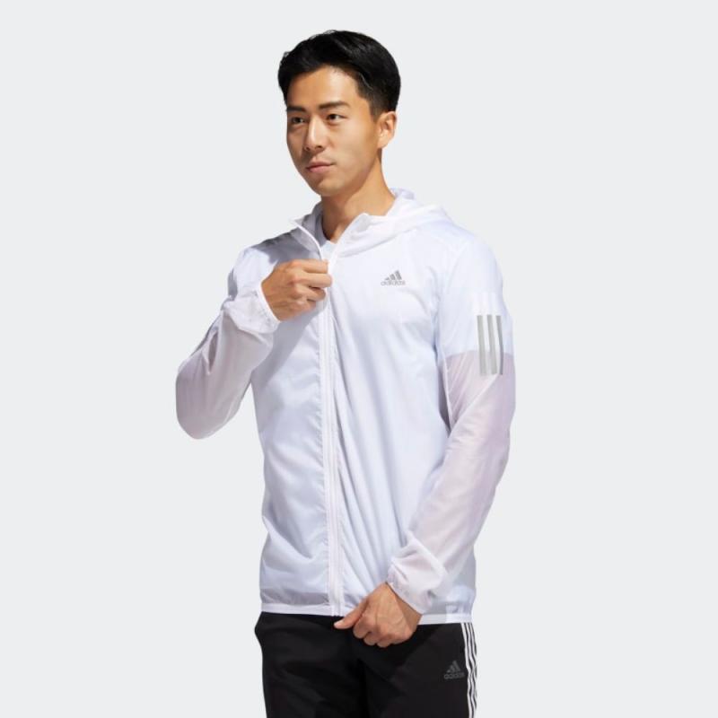 adidas Own The Run Jacket Running Atasan Lari Pria FM6918