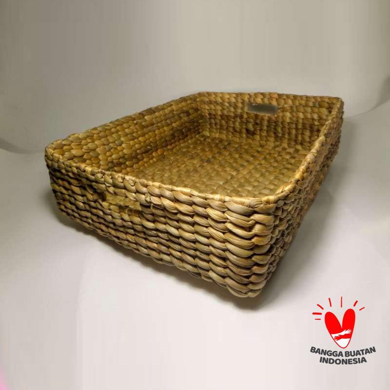 Bengok Craft Home Decor Small Box Enceng Gondok