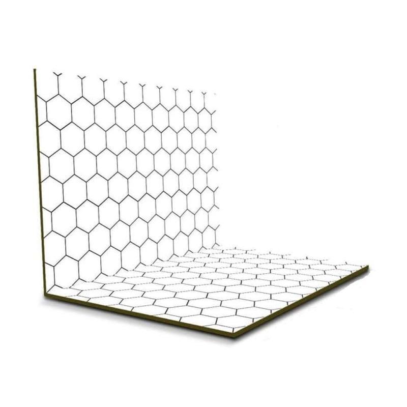 OEM GL 01 Alas Foto Lipat Motif Background Hexagon 42 x 30 cm