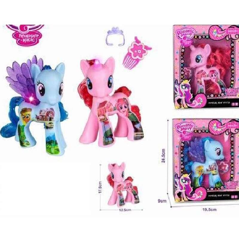 Jual Mainan Kuda Poni Musik Little Pony Kuda Pony Tato Tanduk 14902 Pink Online November 2020 Blibli Com