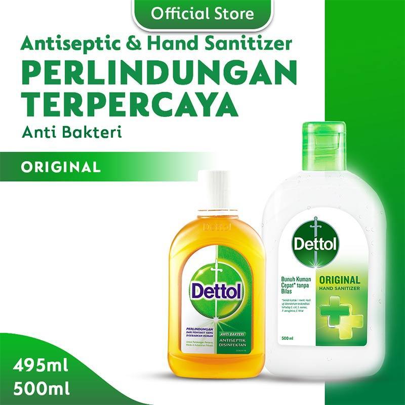Dettol Antiseptic 495 mL Hand Sanitizer Original