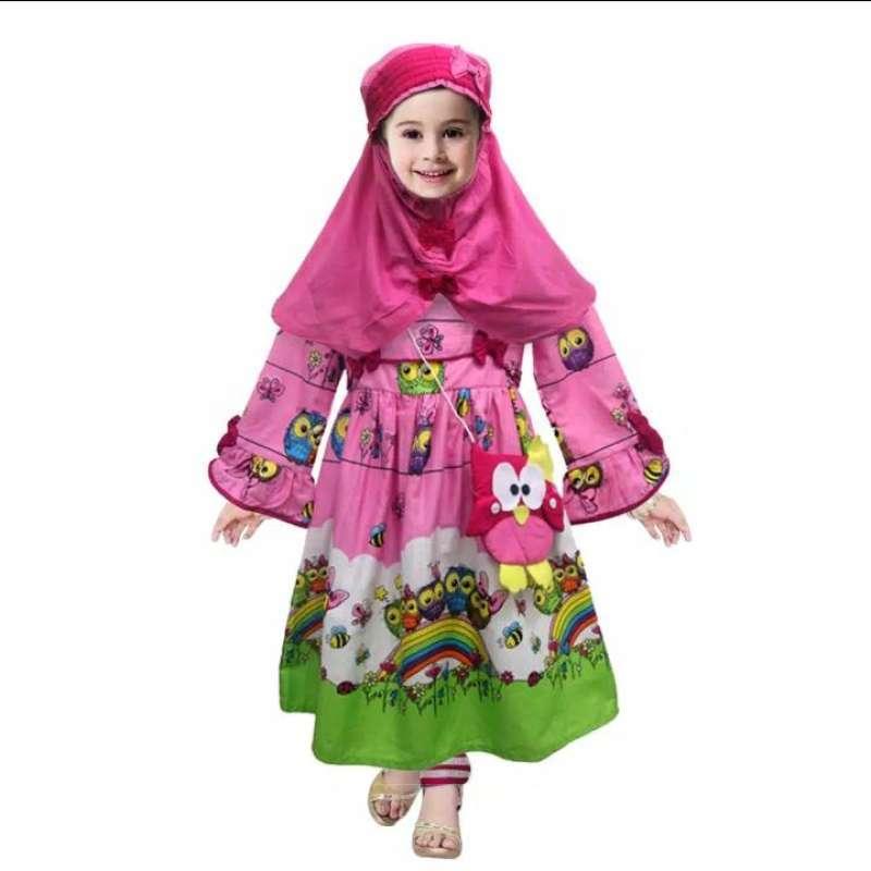 Jual Two Mix Dress Anak Muslim Baju Muslim Anak Wanita Gamis Muslim Anak Busana Muslim Anak 2731 Online Januari 2021 Blibli