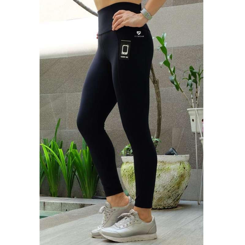 Jual Gottex Pocket Legging Olahraga Wanita Fitness Yoga Zumba Black Online Oktober 2020 Blibli Com