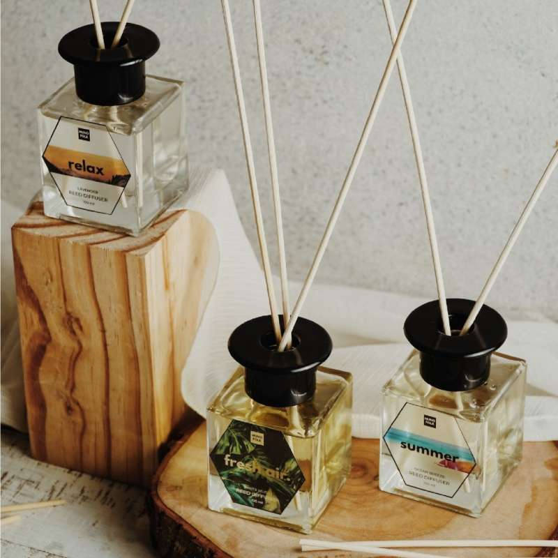 Muno Folk Peaceful Jasmine Reed Diffuser Aromatherapy