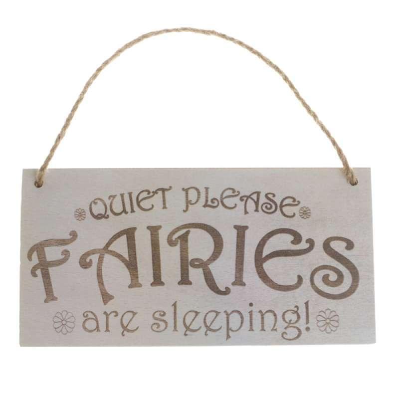 Quiet Please Slogan Wooden Material Plaque Sign Word Board Rectangle Decor