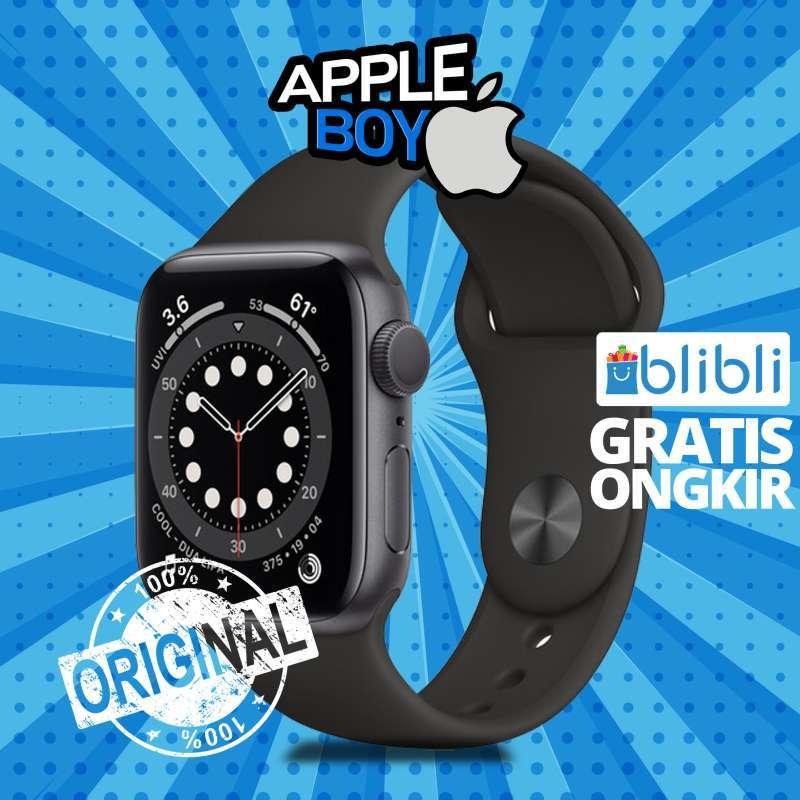 Apple Watch Series 6 GPS 40mm Aluminum Sport Band Garansi 1 Tahun