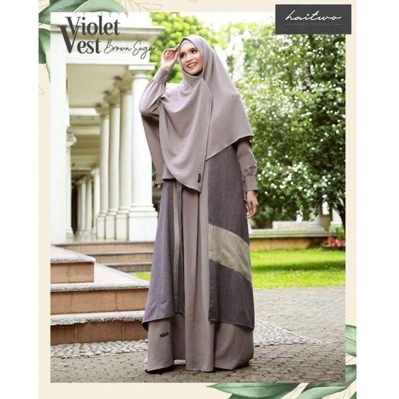 Jual Gamis Haitwo Haihai Gm 090 Baju Gamis Set Wanita Dewasa Muslim Syari Murah Terbaru 2020 Online Februari 2021 Blibli