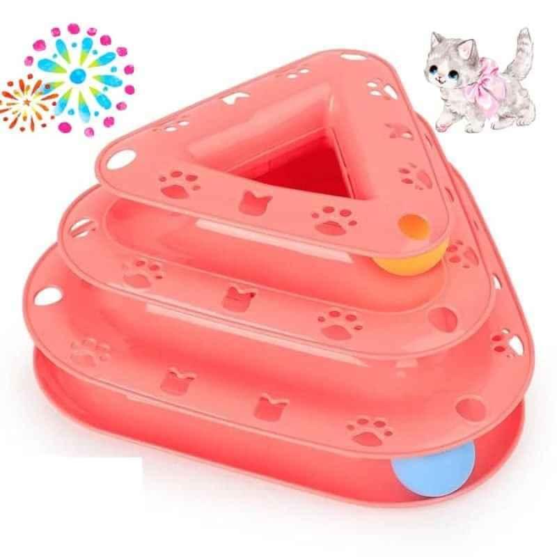 Mainan Kucing Triangular Ball