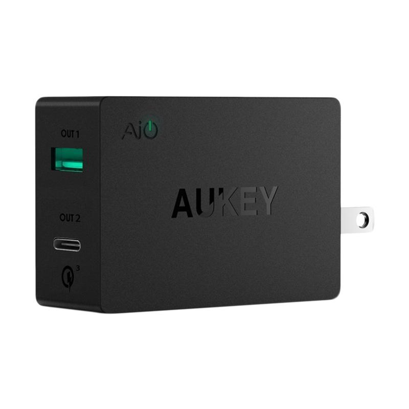 AUKEY PA-Y2 Amp USB Wall Charger with USB-C Port
