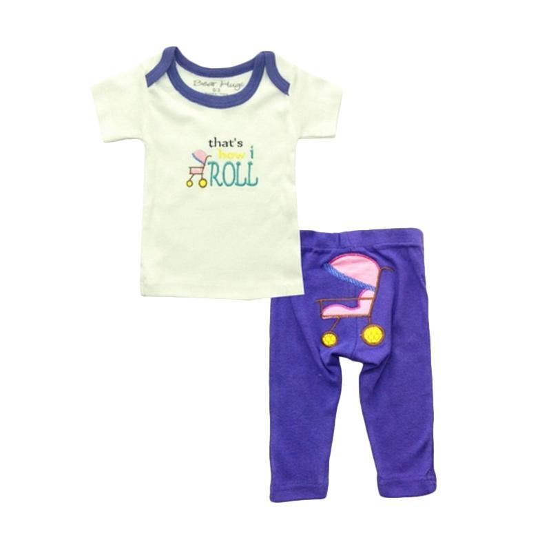 Bearhug Baby Girl Stroller Set Pakaian Anak [2 Pcs]