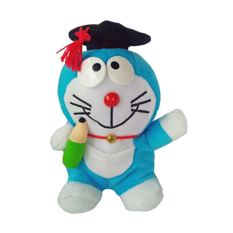 harga OEM Karakter Doraemon Toga Wisuda Boneka - Biru Muda Blibli.com