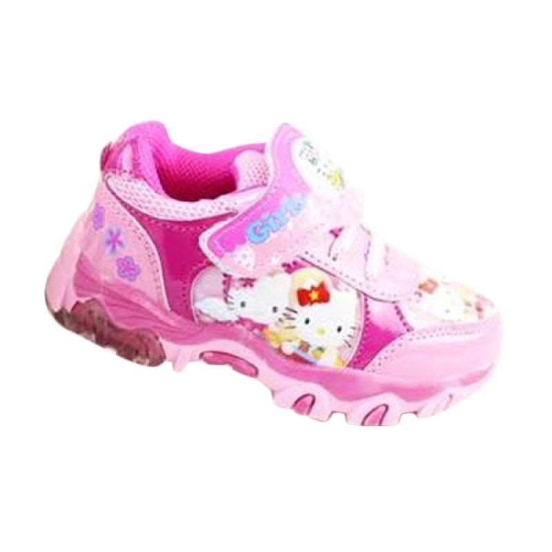 harga Sport Lights Hello Kitty Sepatu Walker Anak Perempuan - Pink Muda Blibli.com
