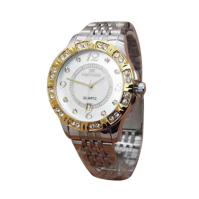 Fortuner FR K8290GA Jam Tangan Wanita - Silver