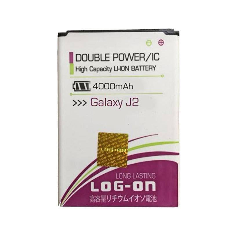 Log On Double Power Battery for Samsung J2 [4000 mAh]