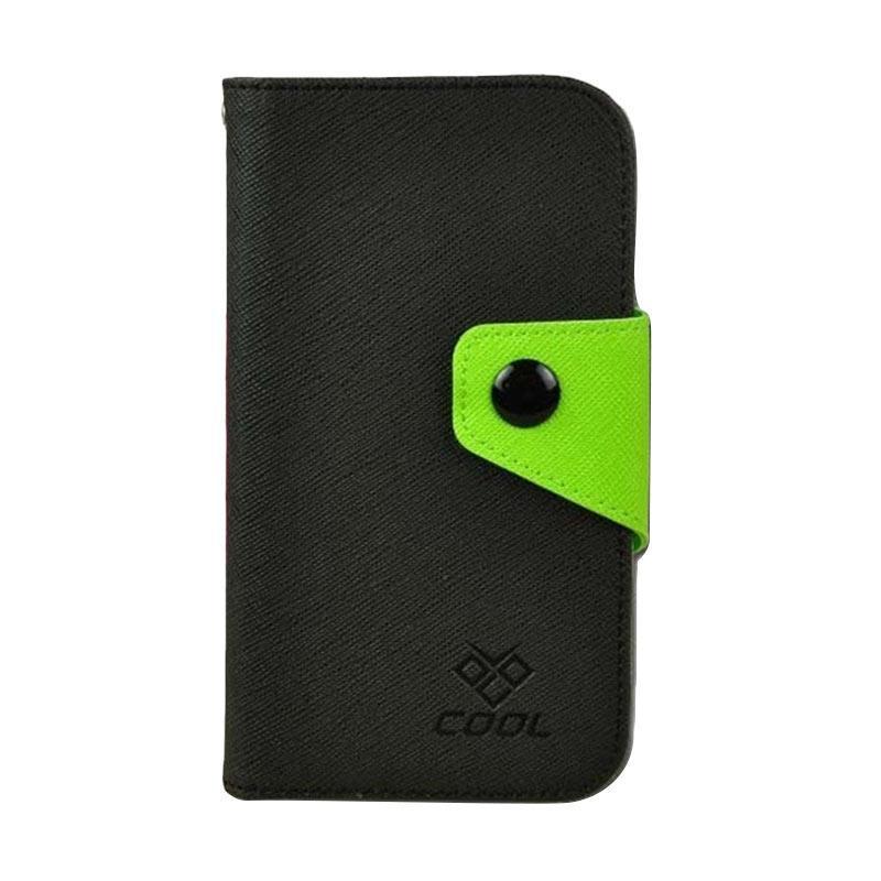 OEM Rainbow Flip Cover Casing for HTC Desire 830 - Hitam