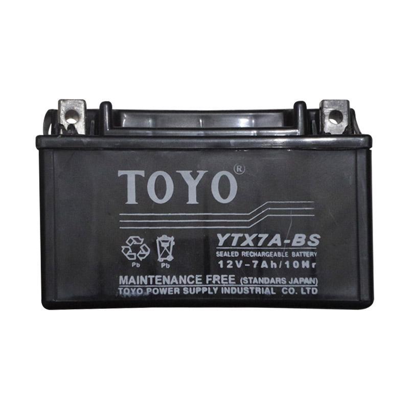 harga Toyo Aki kering YTX7A-BS for Kymco dan Minerva Blibli.com