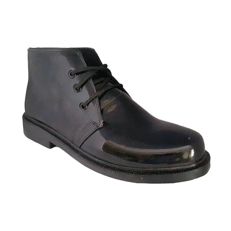 Handymen TNI Lak Ankle Boot - Black