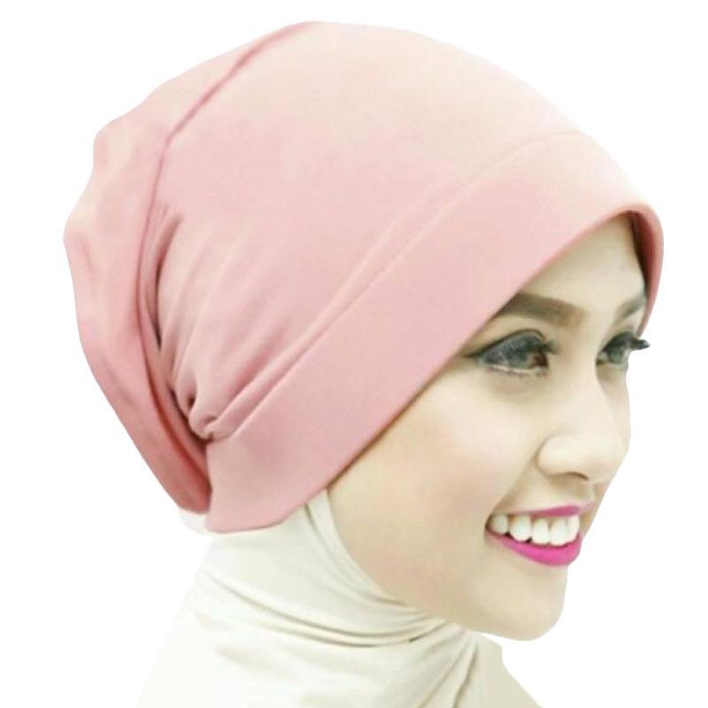 Kus_group Hijab Naura Ciput - Dusty pink