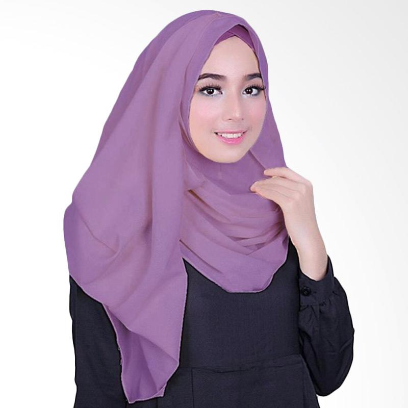 Milyarda Hijab Fusia Jilbab Instant - Ungu