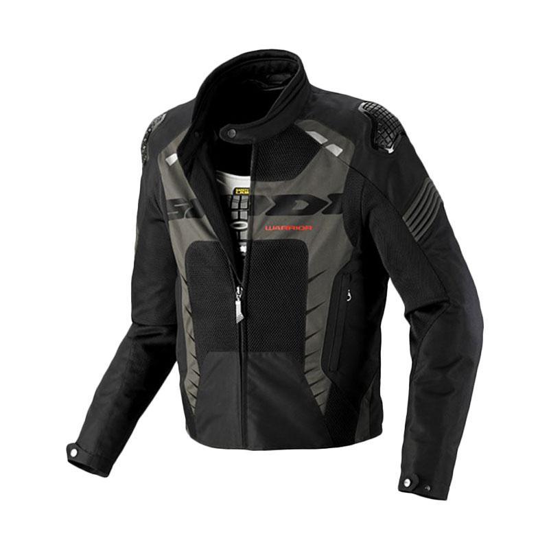 Spidi Warrior Net Antaracite Jaket Motor - Black