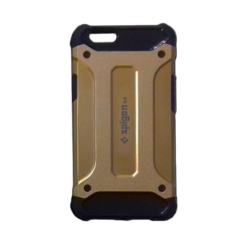harga Spigen Iron Tough Armour Casing for Oppo F1S - Gold Blibli.com