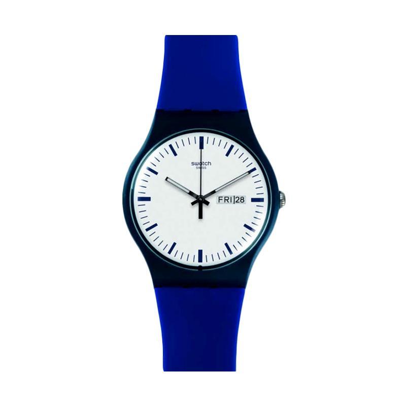 Swatch Bellablu SUON709 Jam Tangan Pria - Black Blue