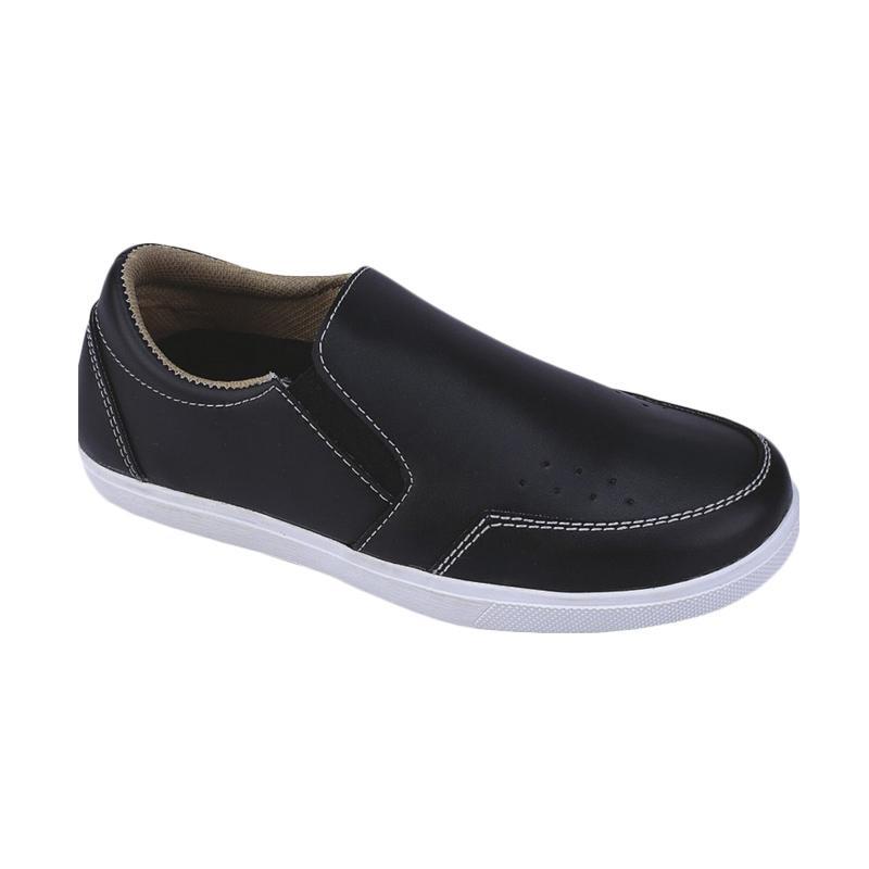 harga Syaqinah 03 Sepatu Slip-on Anak Laki-Laki - Hitam Blibli.com
