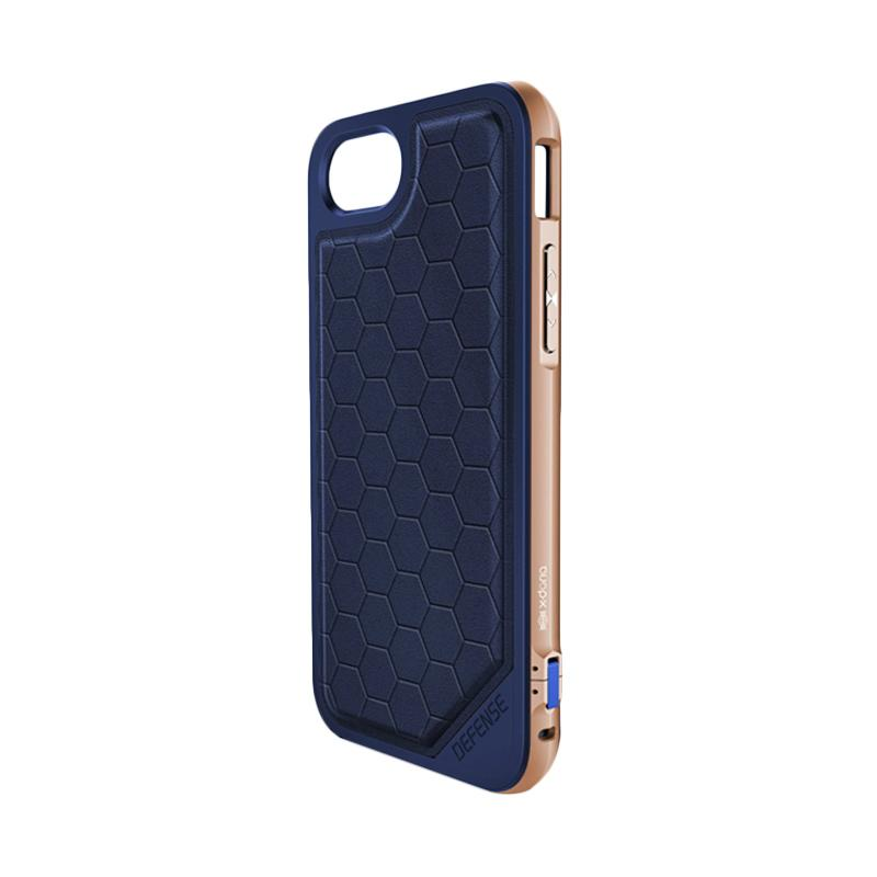 X-doria Defense Lux Casing for iPhone 7 - Blue Gold