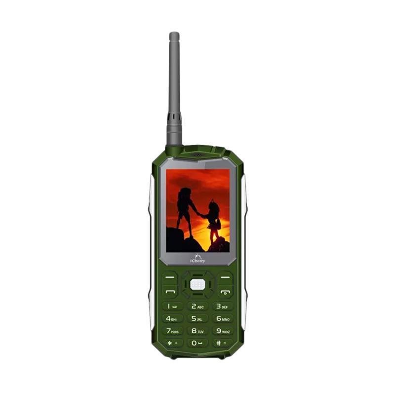 iCherry C209 Army Slim Handphone - Hijau [Dual SIM]