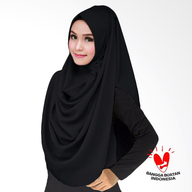 Milyarda Hijab LCB Kerudung Instant - Black