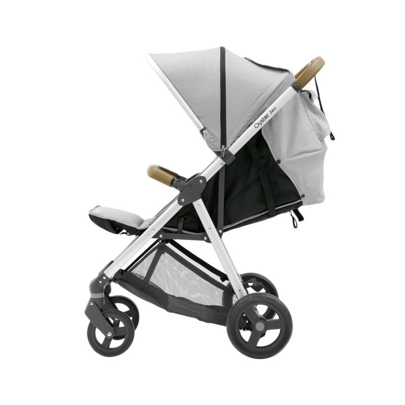 Oyster Zero Stroller Bayi - Pure Silver
