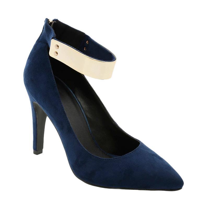 GatsuOne Gwenda 3 Heels Sepatu Wanita - Navy