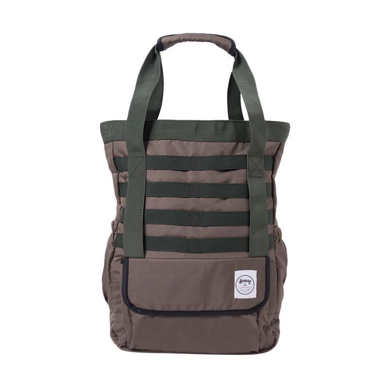 Hanan Project Slame Taslan Tote Bag - Army