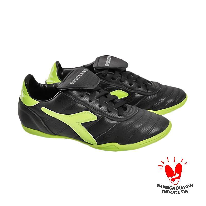 Spiccato SP 528.18 Sepatu Futsal Pria - Black Green