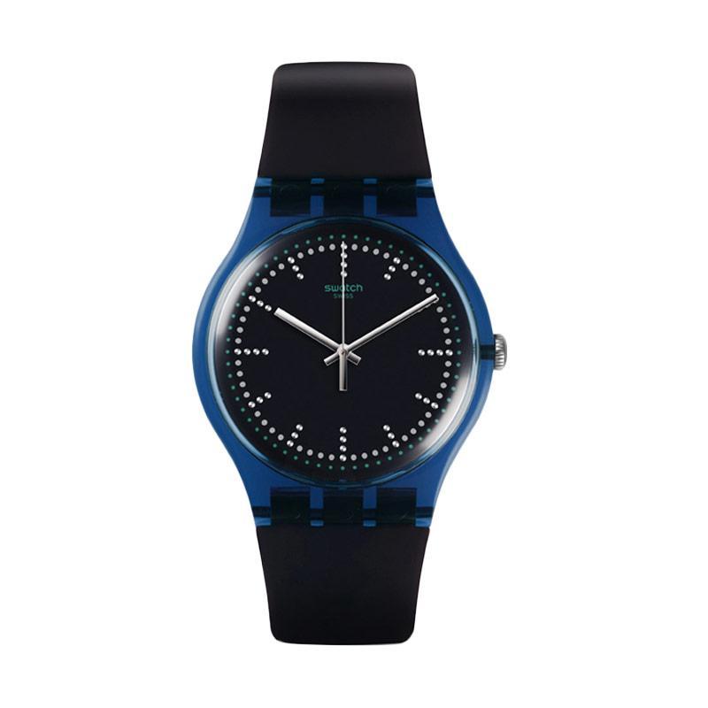 Swatch SUON121 SWT Blue Pillow Jam Tangan Pria
