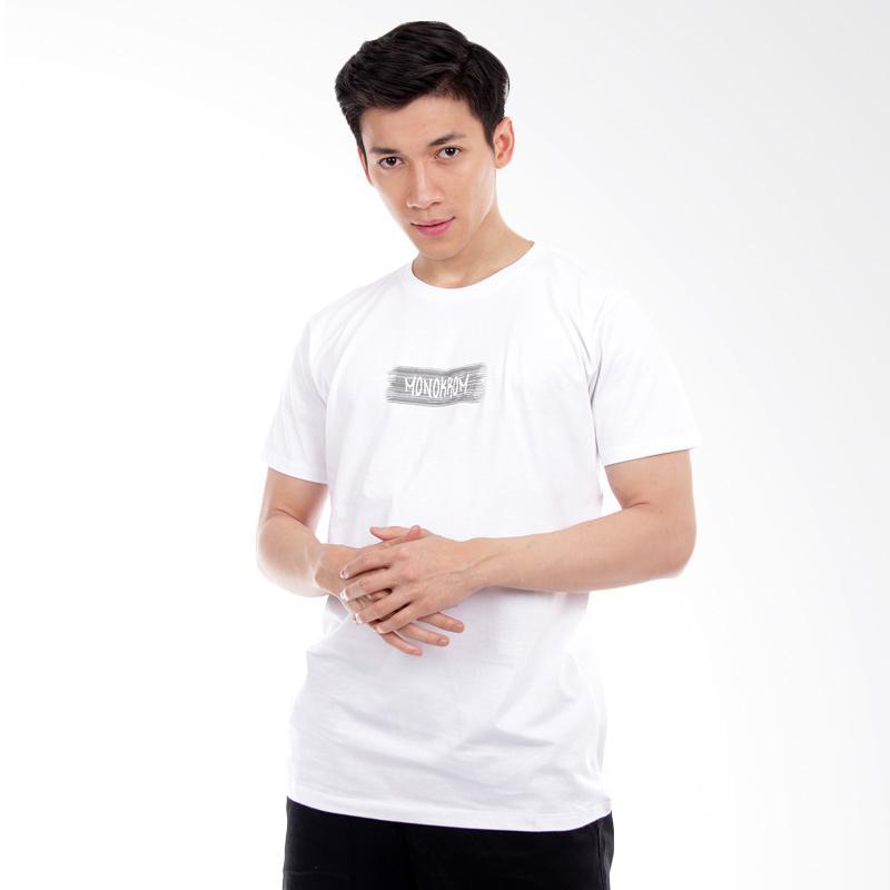 Word.O Monokrom Lengan Pendek T-Shirt - Putih Extra diskon 7% setiap hari Extra diskon 5% setiap hari Citibank – lebih hemat 10%