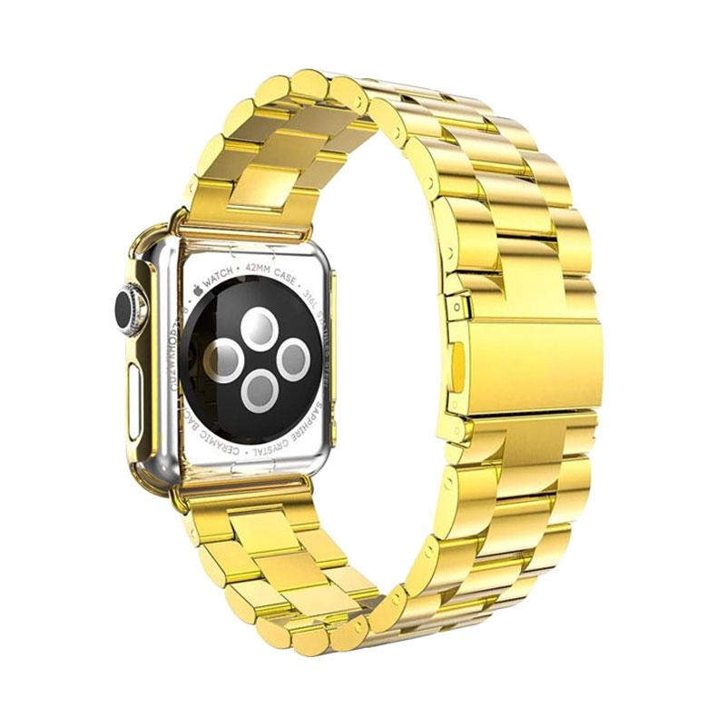 iStomp 3 Blok Metal Band for Apple Watch 42mm - Gold