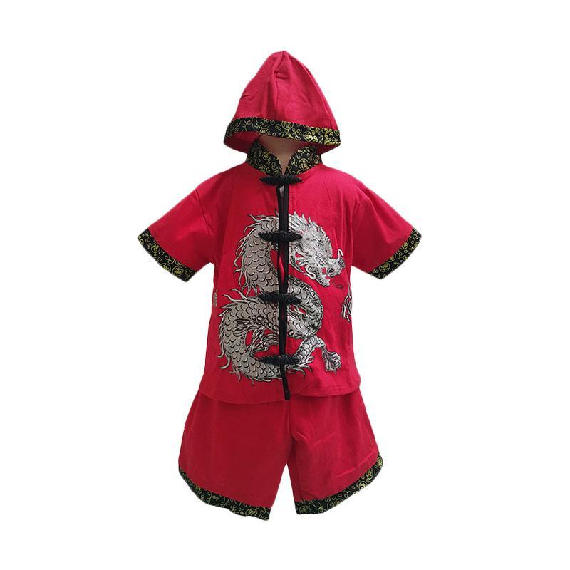 Chloe Babyshop CNY Dragon Boy F724 Setelan Baju Anak