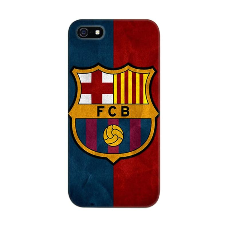 Indocustomcase FC Barcelona 03 Cover Casing for Apple iPhone 5/5S/SE