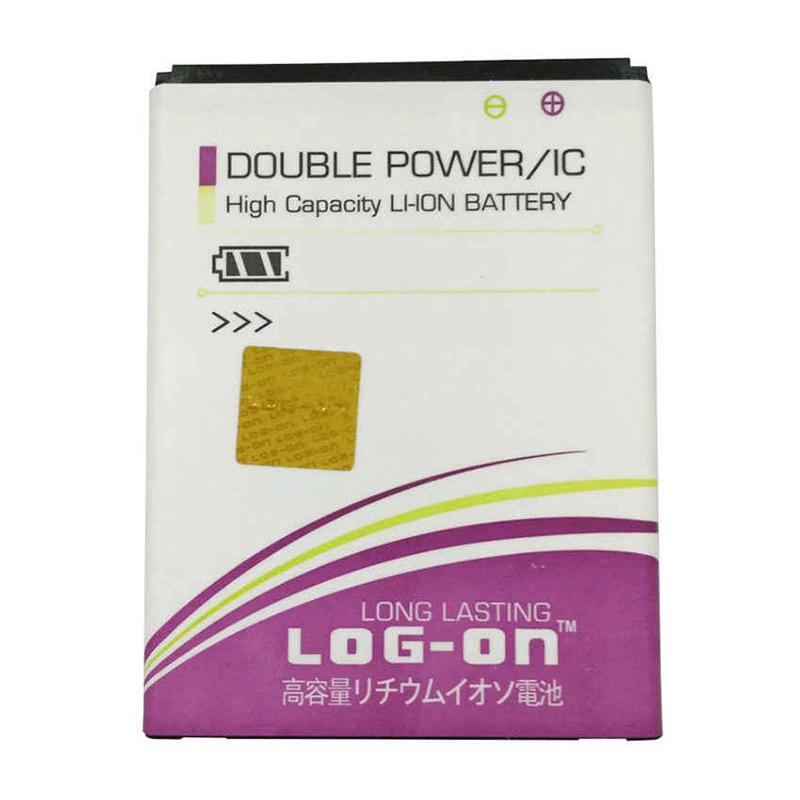 Log On Double Power BL-4U Battery for Nokia C5-03 [2000 mAh]