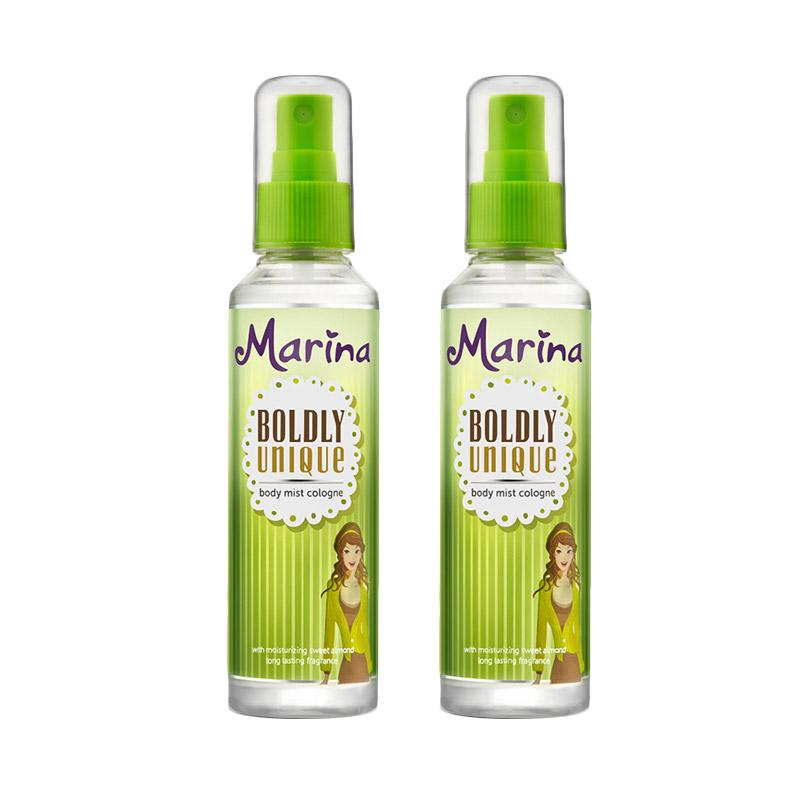 Marina Boldly Unique Body Mist Cologne [100 mL/2 Pcs]