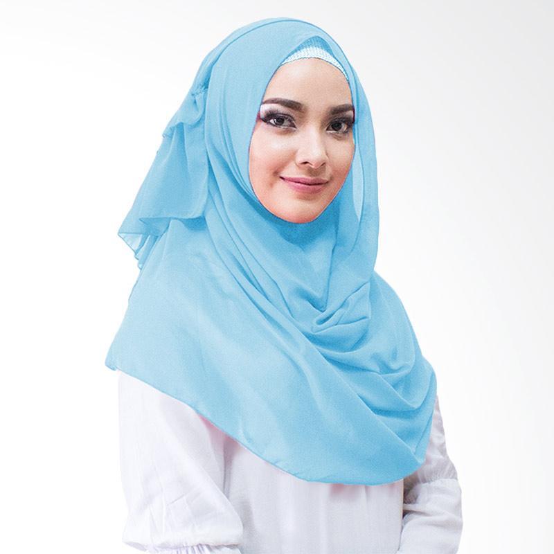 Milyarda Hijab Aime Kerudung Instan - Biru