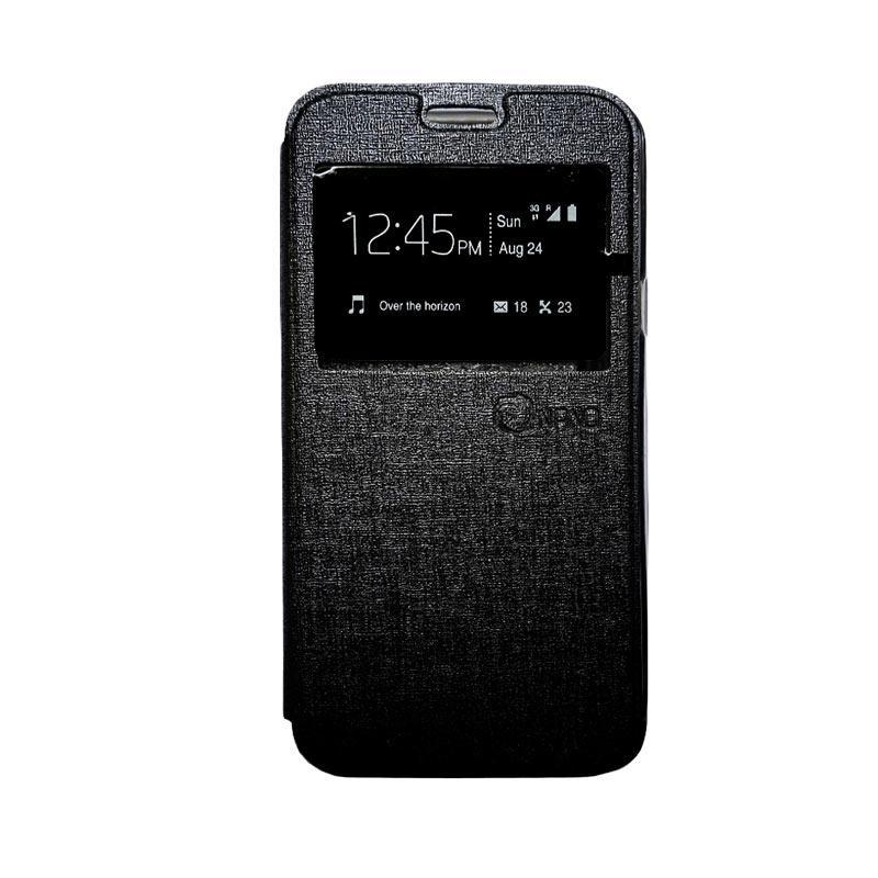 Nano Flip Cover Casing for Samsung Galaxy A310 - Hitam