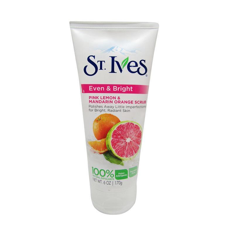 St. Ives Even & Bright Pink Lemon and Mandarin Orange Scrub