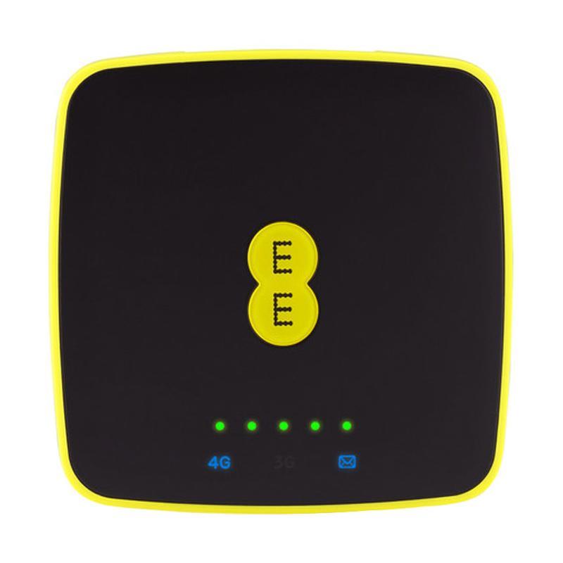 Alcatel 4G LTE Mini EE40 Mifi Modem - Hitam [Nano SIM Card]